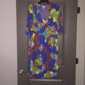 EUC patterned Lilly Pulitzer dress